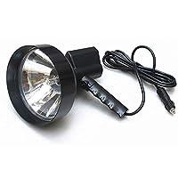 GLJJQMY Searchlight 7 Inch 100W Xenon Car Work Light Spotlight For Car SUV Driving Outdoor Fishing Light Hunting Camping Patrol Light Car Searchlight flashlight (Size : 100W)