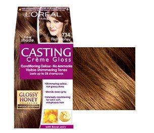 Crème Gloss Casting Loreal NEW miel Rich 734