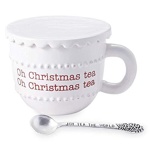 Weihnachtstee Urlaub Tasse 3tlg. Oh Christmas Tea Mudd Pie