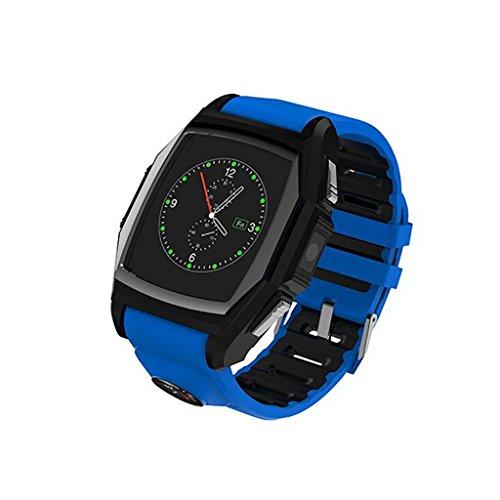 cooljun Fashion GT68Bluetooth reloj inteligente deporte reloj teléfono corazón tasa SOS GPS