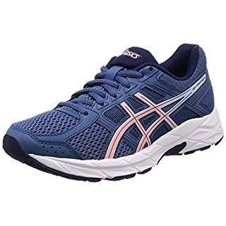 ASICS Women's's Gel-Contend 4 Running Shoes Blue (Azure/Frosted Rose 401) 6.5 UK