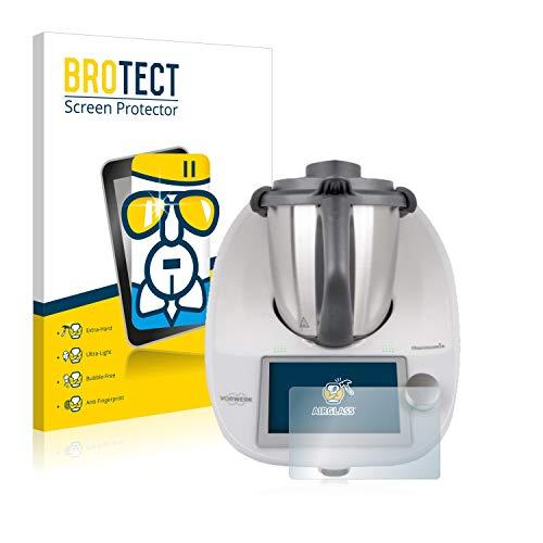 BROTECT Pellicola Vetro Compatibile con Vorwerk Bimby TM6 - Vetro Prottetivo, Flessibile 9H, AirGlass