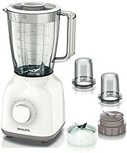 Philips Jug Blender 400W, HR2114, White, 1 Year Brand Warranty, UAE Version