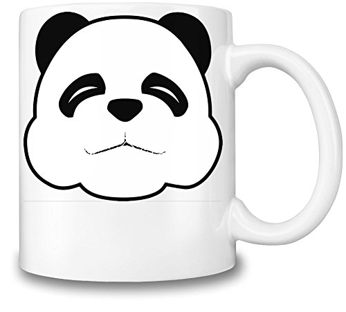Sleepy Panda Face Mug Cup (Sleepy Bear Tee)