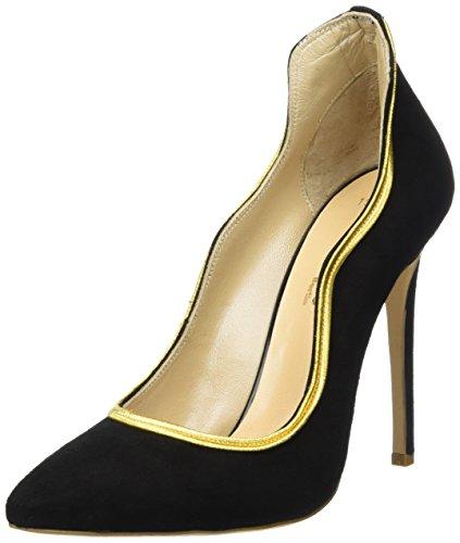 Fersengold Berlin, Chaussures À Talons Noirs Pour Femmes (noir)