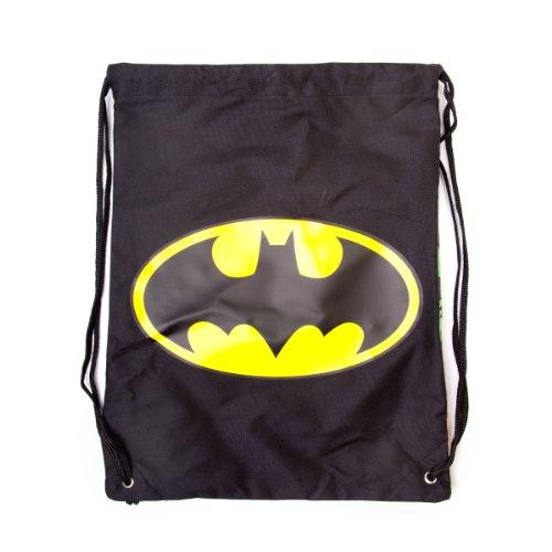 Batman-Turnbeutel-reversible-Logo-und-Comic