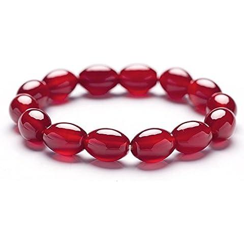 Y&XL&H Ghiaccio rosso agata perline naturali 8 * 12mm ladies personalità delicato bracciale