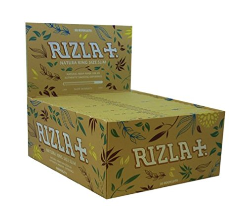 rizla-natura-king-size-slim-rolling-paper-full-box-of-50-booklets