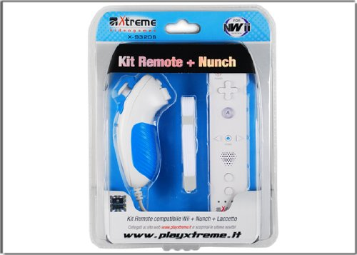X: Treme Kit Remote + Nunchuck 93206. Gamepad