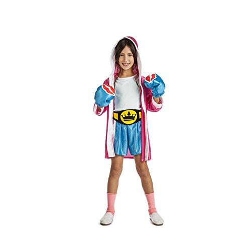 Imagen de disfraz de boxeadora para niña