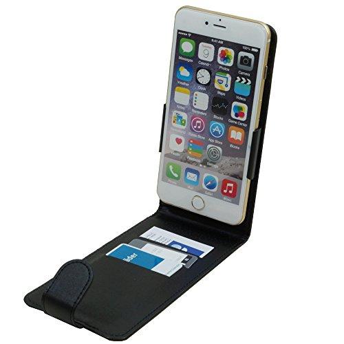 Vertikal Flip Case Klapp Etui Hülle Case für 5,3 - 5,8 Zoll Smartphone Jiayu S3 Advanced