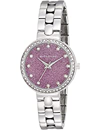 Giordano Analog Purple Dial Women's Watch - A2068-33