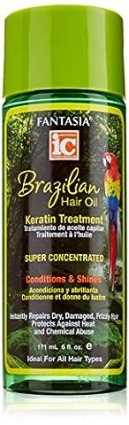 Fantasia Brazilian Hair Oil Keratin Treatment 171 ml/6 fl