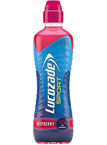 Lucozade Sport Raspberry - Pack Size = 12x500ml