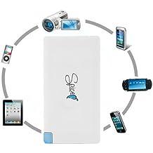 Spice Power Bank-4000 mAh Extra Slim-Cargador universal para teléfono móvil o Smartphone-Batería externa universal con incluye Adaptador de IPhone