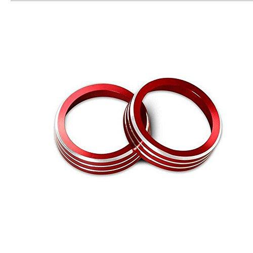 2 Stück Auto Styling Ac Knob Abdeckung Klimaanlage Knob Hitze Control Switch Knob -