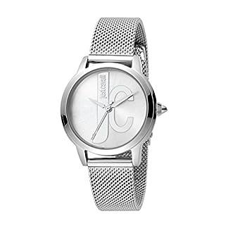 Just Cavalli Reloj Analógico para Mujer de Cuarzo con Correa en Acero Inoxidable JC1L050M0065