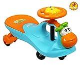 #6: Baybee MooMoo Swing Car (Blue)