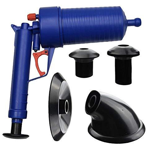 Drop Shipping Home Hochdruck Luftfeder-Luft-Drain Pump Plunger Sink Pipe Clog Remover Toiletten Bad Küche Cleaner Kit -