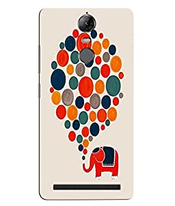 Citydreamz Balloons/Elephant/Abstract Art Hard Polycarbonate Designer Back Case Cover For Lenovo K5 Note
