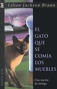 El gato que se comia los muebles par  Lilian Jackson Braun