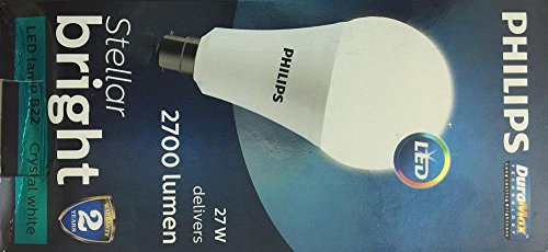 Philips Stellar bright 27W b22 base led bulb (cool day light) 2700lm