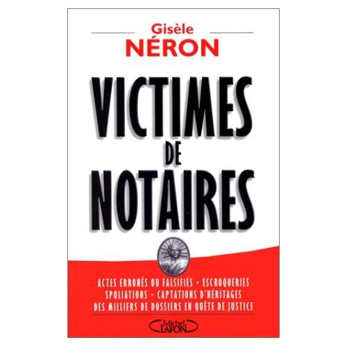 Victimes de notaires