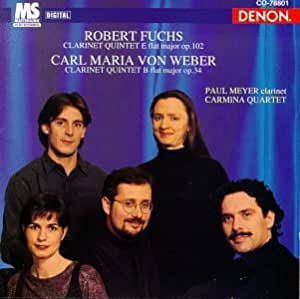 Quintet Pour Clarinette [Import anglais]