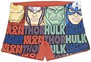 Marvel Los Vengadores Spiderman Bañador para Niños, Boxers, Natacion, Vacaciones Piscina Playa, Secado Rápido