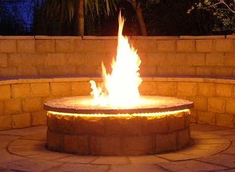 Brightstar, Gas Fire Pit Burner, Round, 18kw, LPG Gas