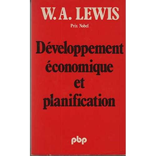 Développement économique et planification