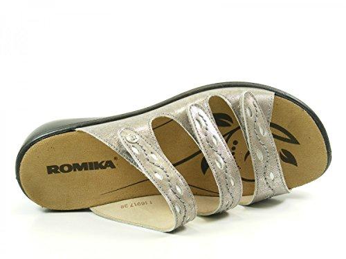 Romika Ibiza 66 Damen Sandalen Grau
