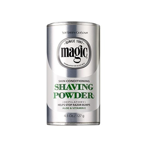 Magic Platinum Shaving Powder133 ml Skin Conditioning (Puder)