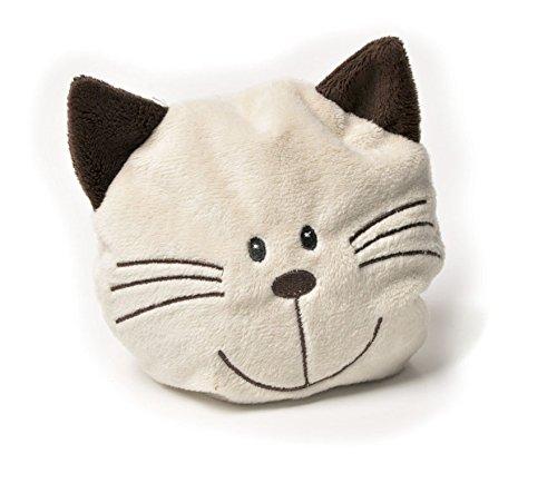 Aumüller Mini-Willy Katzenkopf aus schmusigen Teddyplüsch