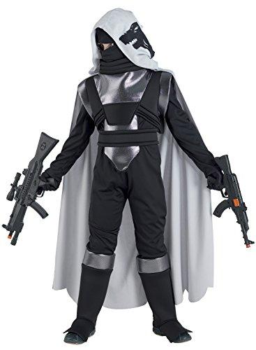 Chiber - Krieger Wolf Kostüm Kinder (Größe - Kind Größe Assassin Creed Kostüm