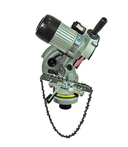 YERD Hochwertiges Kettenschärf-Gerät/Semi-Profi Schärfgerät EVO, mit umfangreichem Zubehör, ideal zur Wandmontage