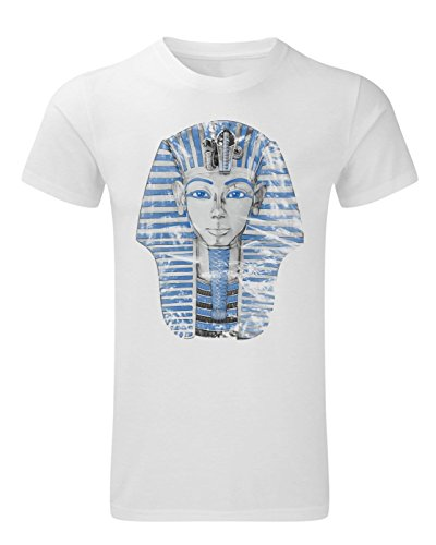 Tutanchamun Shirt - Ägypten T-Shirt mit der Maske von Pharao Tutanchamun für Herren