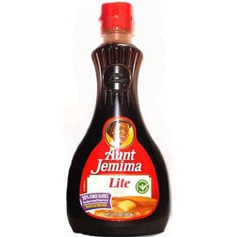Aunt Jemima Lite Syrup 12 OZ (355ml)