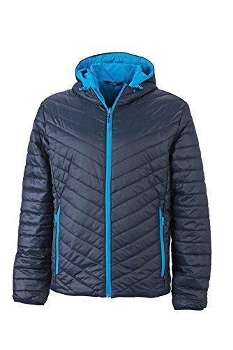 Men's Lightweight Jacket im digatex-package Navy/Aqua
