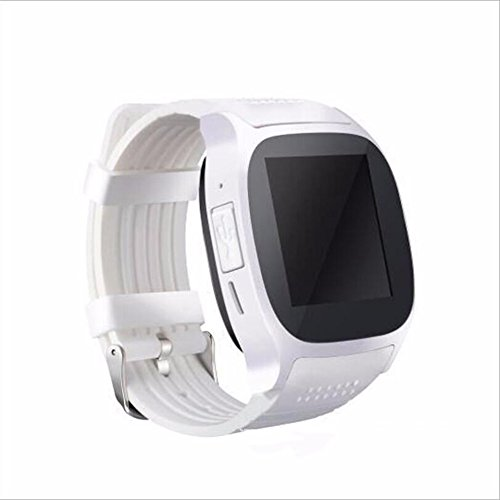 Human T8M Pulsuhr Smart Watch MTK2502 Blutdruckmessgerät Bluetooth 4.0 Smart Watch,White