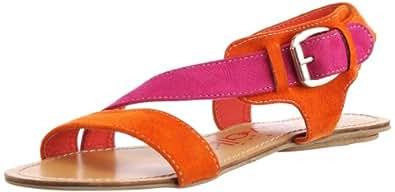 Catwalk Women's Orange Fashion Sandals - 9 UK (9159OG)