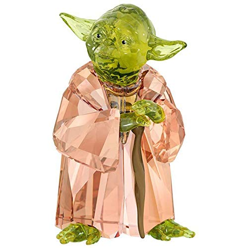 Swarovski Star Wars-Master YODA, Kristall, Mehrfarbig, 6,2 x 3,7 x 3,4cm