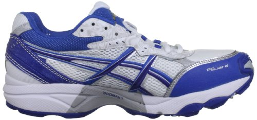 Asics  Gel Strike Rate 2 M, Herren Cricketschuhe, Weiß Bianco (White/Navy/Pitch Gold)