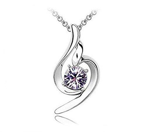 Cdet Damen Halskette Engel Diamant Anhänger Halskette Ornamente Legierung Halskette Valentinstag...