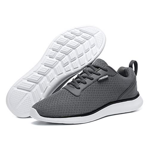 Fascino-M Herren Damen Laufschuhe Sportschuhe Freizeit Turnschuhe Sneaker Breathable Mesh Leichtgewicht Athletic Schuhe - 4 Adidas Größe Schuhe Jungs