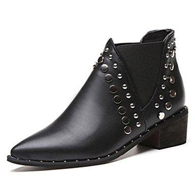 Rtry Chaussures En Cuir Tassel Femmes Automne Bottes De Combat De Printemps Talon Bas Strass Punta À Us7.5 Noir Noir Extérieur / Eu38 / Uk5.5 / Cn38 Us5.5 / Eu36 / Uk3.5 / Cn35
