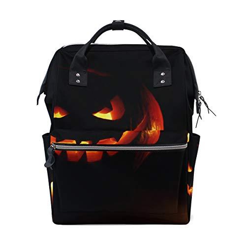 e Kürbis Kerze Große Kapazität Windel Taschen Mummy Rucksack Multi Funktionen Wickeltasche Tasche Handtasche Für Kinder Babypflege Reise Täglichen Frauen ()