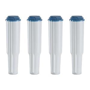 4 Wasserfilter-Patronen passend für Jura Kaffeemaschinen bis Baujahr 2009 außer ENA Claris blue