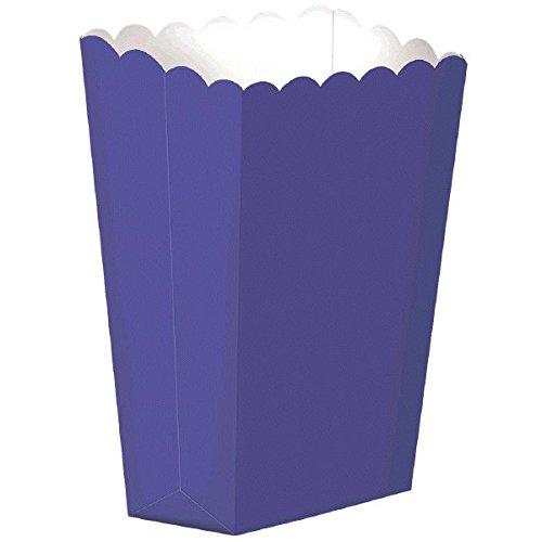 Up Kostüm Boxen Dress - Amscan Große lila Papier Popcorn Boxen