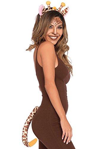 Leg Avenue A2807-2pc. Giraffe Kit, Einheitsgröße - Giraffe Kostüm Kit